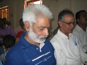 विशिष्ट श्रोता रामजी राय इरफ़ान के साथ